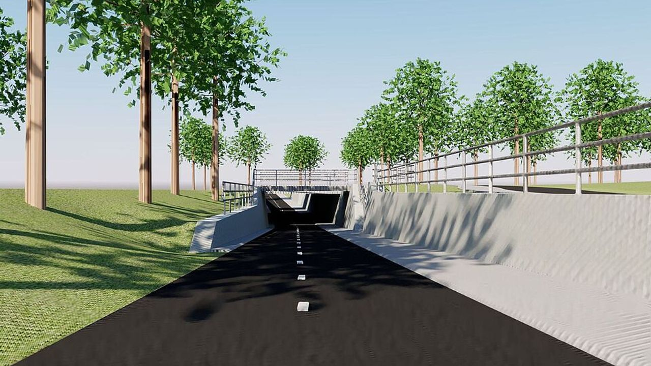 Kruispunt Utrechtseweg / Kromme-Rijnlaan dit weekend afgesloten
